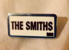 The smiths enamel street sign M6 postal code badge limited edition to 1400 produced, sold out by artist