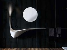 wandhängendes Waschbecken-LDVC Wing-Ablagefläche Regal-dekoratives Licht