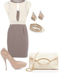 """""""neutral"""" by kswirsding on Polyvore"""
