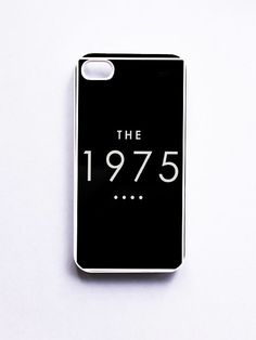 The 1975 Logo Black Phone Cases For iPhone, Samsung, Sony iPod | Feeiva