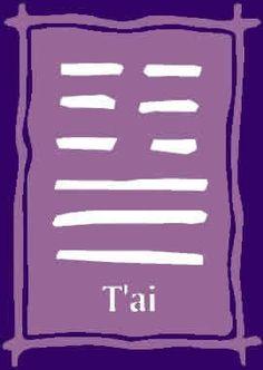 I CHING - O Livro das Mutações: Hexagrama 11. T'ai / Paz