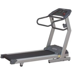 If you're willing to make time for an excellent cardio work-out, but aren't sure you can make the space to accommodate the right equipment, look no further than the Endurance TF3i Folding Treadmill. With precision engineering and state-of-the art electronics, this solidly built treadmill is designed to help you achieve your fitness goals when you want to work out, and can be easily rolled conveniently out of the way when you're finished.