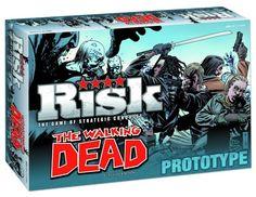 Un Monopoly et un Risk The Walking Dead