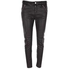 Whistles - leather - s/m - Designer Shoes, Designer Dresses, Whistles, Victoria Beckham, Knitwear, Leather Pants, Shirt Designs, Black Jeans, Trousers