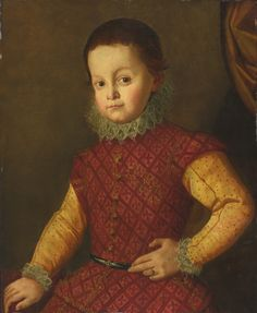 From Sotheby's. Circle of Santi di Tito, Portrait of a Young Boy. Not dated. Portraits From Photos, Family Portraits, Landsknecht, Historical Clothing, Renaissance Clothing, Renaissance Fashion, Costumes For Teens, Old Master, Photo Quality