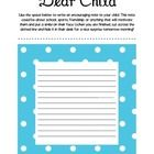 During Meet the Teacher nights, parents get a chance to write a letter to their child to be discovered the next morning at school!A great idea to...