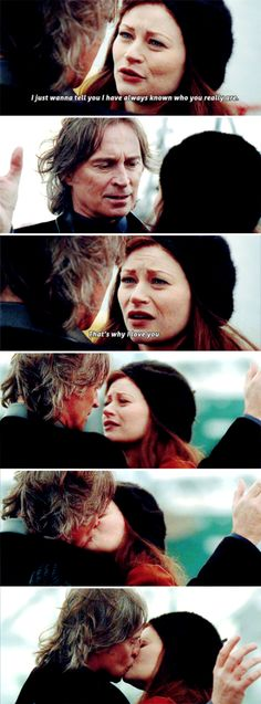 """I have always known who you really are. That's why I love you"" - Belle and Rumple #OnceUponATime"