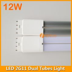 12W LED 2G11 dual tube light