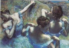Blue Dancers by Edgar Degas from Finland