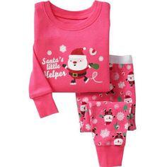 c0a8a2b5d0 Kids Girls Christmas Pajamas Set Baby Girls Clothing Set 2-7 Years Children  Boys Sleepwear Baby Pijama Pyjama Suit For Baby Boy