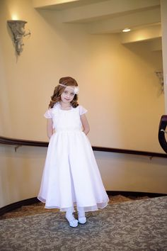 0d197b17d A dress to compliment her beauty and celebrate her big day, the Ava Communion  Dress