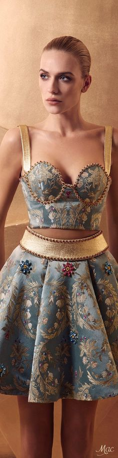 Spring 2016 Haute Couture Maison Lilly and Billy Fashion Details, Look Fashion, High Fashion, Fashion Show, Fashion Design, Couture Fashion, Runway Fashion, Pretty Dresses, Beautiful Dresses