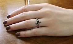 Snake Ring 10k Eternity Knot Serpent by TheEdenCollective on Etsy