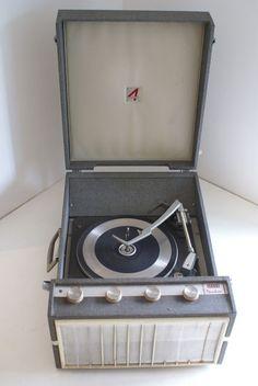 Vintage Record Player Decca Deccalia Turntable | eBay