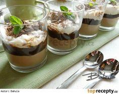 Čokoládový pohár s mascarpone Sweets Cake, Mini Cheesecakes, Pavlova, Something Sweet, Trifle, Nutella, Baked Goods, Cookie Recipes, Panna Cotta