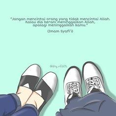 Hijrah Islam, Islam Marriage, Reminder Quotes, Self Reminder, Jodoh Quotes, Islamic Cartoon, Muslim Love Quotes, Anime Muslim, Cartoon Stickers