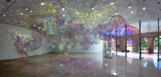 light color installation art - Google Search