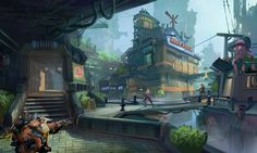 Overwatch Map idea.