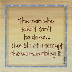 The Man Who Said