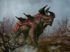 A home for Creature Art; Brent Hollowell; some creature dudes