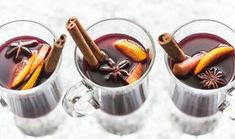 Ζεστό κρασί με μπαχαρικά
