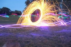 LIGHT PAINTING BY cat Carter