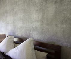 Feature Bedroom Wall Ideas - Venetian Plaster Melbourne | Renaissance Decor Feature Wall Bedroom, Bedroom Wall, Venetian Plaster Walls, Wall Textures, Faux Painting, Wall Finishes, House Wall, Wall Cladding, Boathouse