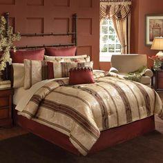 Similiar croscill marquis california king comforter sets for bedroom decora Luxury Comforter Sets, Red Comforter, Damask Bedding, Queen Comforter Sets, Duvet Bedding, Bedding Sets, Croscill Bedding, Cool Comforters, Bedroom Comforters
