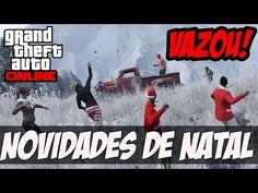 NOVIDADES DA DLC DE NATAL VAZOU!!! GTA V UPDATE FESTIVAL DE NATAL