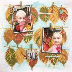 Falling Leaves- Audrey Yeager (The Cut Shoppe) Fall Photos, Months In A Year, Happy Fall, One Color, Autumn Leaves, Cutting Files, Falling Leaves, Christmas Ornaments, Holiday Decor