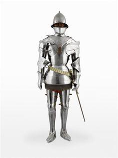 Knight Armor, Grand Palais, 15th Century, Knights, Samurai, Plate, Museum, Inspiration, Places