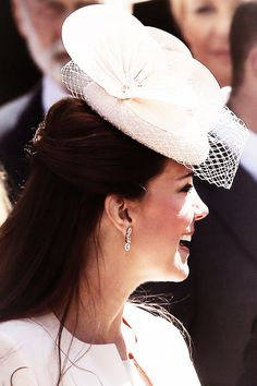 middletonroyalty:  Catherine at the 60th Anniversary of the Queen's Coronation 6/4/13