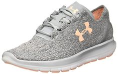 New Under Armour Women's Speedform Slingride TRI Running Shoe, Overcast Glacier Gray/Marlin Blue online shopping - Findoffergoods Sock Shoes, Vans Shoes, Asics Running Shoes, Gym Wear, Vintage Shoes, Running Women, Under Armour Women, Vintage Ladies, Athletic Shoes