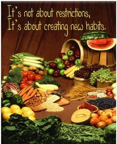 Creating good habits. Every small step you take counts.