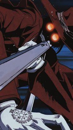 Manga Anime, Anime Demon, Anime Art, Hellsing Ultimate Anime, Hellsing Alucard, Pop Art Wallpaper, Anime Crafts, Susanoo, Demon Art