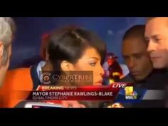 """Mayor of Baltimore said """"We will give them space to Destroy"""" then denies it"""