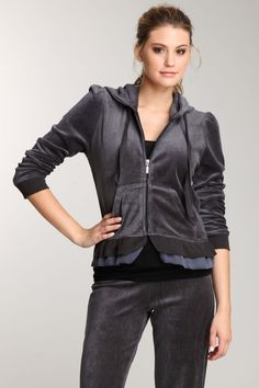 The hood reinvented with ruffle trim Romeo and Juliet Couture. Only $19 today on Hautlook