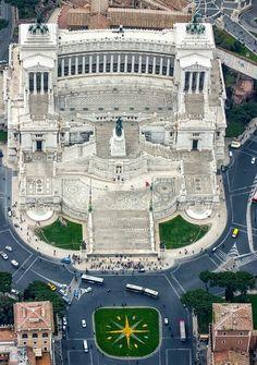 Piazza Venezia e Altare della Patria, Rome, Italy