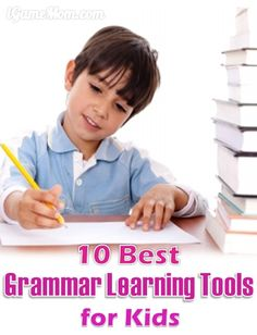 Best Grammar Learning Tools for Kids, making grammar teaching or learning fun and engaging. Great resource for grammar activities, games, lesson ideas for English language learning at school or homeschool.