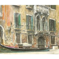 Check out this item at One Kings Lane! Venetian Palazzo, 1966