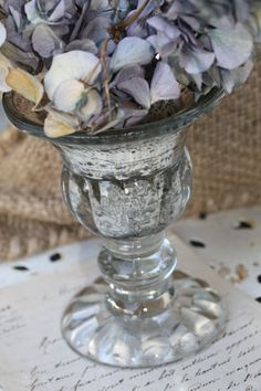 love mercury glass.