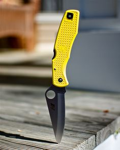 Spyderco Pacific Salt | The Pacific Salt knife from Spyderco. This knife is made of H1 steel, which is almost rust proof - good for coastal environments.