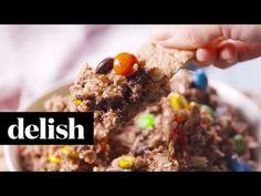 Best Monster Cookie Dough Dip Recipe - Delish.com