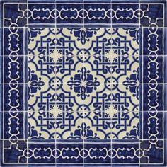 Mosaico Azul Talavera Mexican Tile