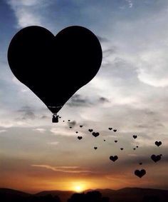 You know what love is? Disharmony prevails when You confuse lust with love, while The distance between the two Is endless. Heart In Nature, Heart Art, Air Balloon Rides, Hot Air Balloon, Heart Images, Heart Pics, Heart Balloons, I Love Heart, Love Wallpaper