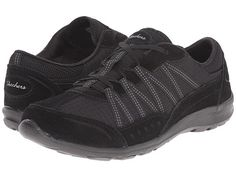 SKECHERS Active Dreamchaser Skylark suede/fabric black sz7.5 64.99 3/16