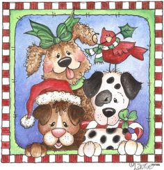 Canine Christmas, for this and other prints you will have to join and sign in. These are so cool I don't mind doing it.