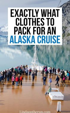 The Perfect Alaska Cruise Packing List For Any Time Of Year – Linda On The Run – Travel Packing Packing For Alaska, Packing List For Cruise, Alaska Travel, Cruise Tips, Cruise Travel, Cruise Vacation, Travel Usa, Packing Lists, Alaska Trip