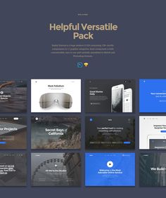 Baikal Startup UI Kit / Free Sample Inside on Web Design Served
