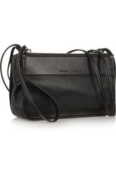 Proenza Schouler|Z textured-leather shoulder bag|NET-A-PORTER.COM